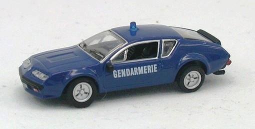 renault alpine a310 gendarmerie skala h0 die cast model norev 517814. Black Bedroom Furniture Sets. Home Design Ideas