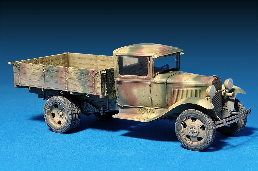 gaz aa cargo truck miniart 35124. Black Bedroom Furniture Sets. Home Design Ideas