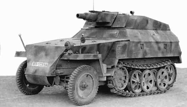 Sdkfz2508 Stummel Ace 72514