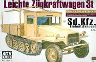 German Sd Kfz 11 Late Production (Wooden Cab)