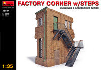Factory corner with steps - Image 1