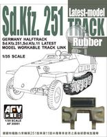 Sd.Kfz.251Track Latest Model Rubber