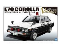 E70 Corolla Sedan Patrol Car Early ver. - Image 1