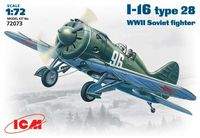 I-16 type28  WWII Soviet fighter