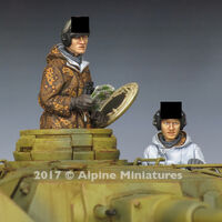 WSS Panzer Crew Winter Set (2 figs)
