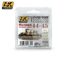 AK 4171 COLOR COMBO GERMAN STANDARD Colors 44-45 SET