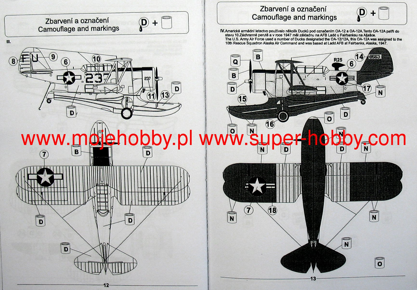 Grumman J2f 56 Duck Pavla Models 72056