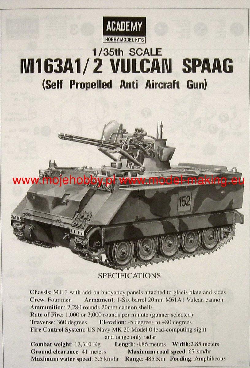 M 163 A12 Vulcan Spaag Academy 1360