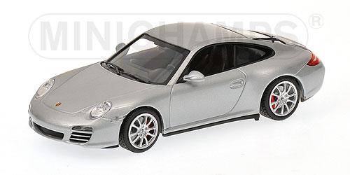 Minichamps 400066421 metallic silber Porsche 911 Carrera 4S Ma/ßstab: 1:43