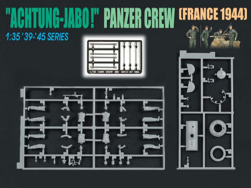 achtung jabo panzer crew france 1944 dragon 6191. Black Bedroom Furniture Sets. Home Design Ideas