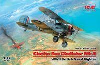 Gloster Gladiator Mk.II WWII British Fighter 1:32 ICM 32041