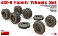 ZIS-6 FAMILY WHEELS SET - Image 1