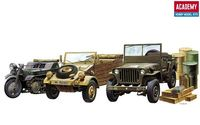 WW.II GROUND VEHICLE SET - Image 1