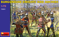 Burgundian Knights and Archers XV c.