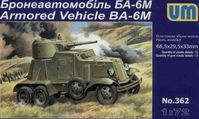 Armored Vehicle BA-6M