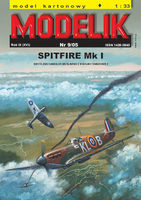 British fighter SPITFIRE Mk I - Image 1