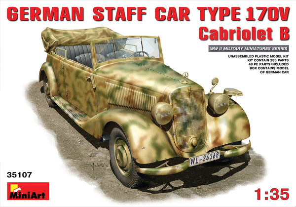 GERMAN STAFF CAR MB 170V. CABRIOLET - Image 1