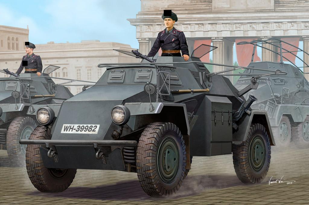 German Sd.Kfz.223 Leichter Panzerspähwagen Hobby Boss 83817