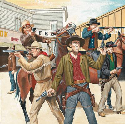 Revolverhelden Wilder Westen