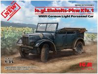 le.gl.Einheits-Pkw Kfz.1 WWII German Light Personnel Car