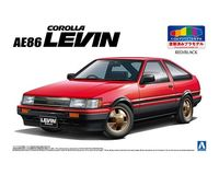 TOYOTA AE86 LEVIN 83 (RED/BLACK) - Image 1