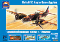 "Martin M-167 ""Maryland"" American light bomber / reconnaissance plane"