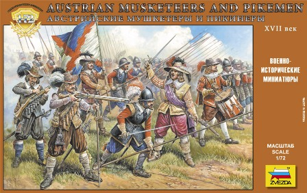 AUSTRIAN MUSKETEERS AND PIKEMEN 17TH CENTURY - Image 1