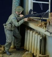 British / Commonw Bren Gunner in action 1943-45