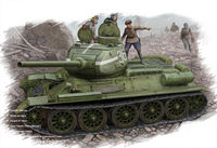 Russian T-34/85 (flattened turret) - Image 1