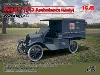 Model T 1917 Ambulance (early), WWI AAFS Car - Image 1