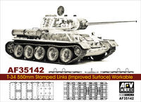 Soviet T-34 550mm Stamped Links (Improved Surface) Workable