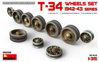 T-34 WHEELS  SET. 1942-43 SERIES - Image 1