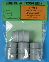 German 200 l Fuel Drums Set #1 - Image 1