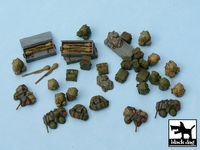 German equipment accessories set 35 resin parts