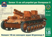 Sturmpanzer II German 15 cm self-propelled gun