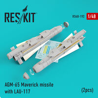 AGM-65 Maverick missile with LAU-117  (2pcs)AV-8b, A-10, F-16, F-18)