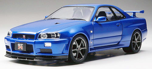 nissan skyline gt r r34 ii tamiya 24258. Black Bedroom Furniture Sets. Home Design Ideas