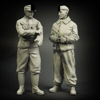 Waffen-SS tank officers  winter clotches  set - Image 1