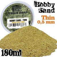 Thin Sand - Natural Colour