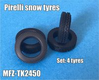 Pirelli snow tyres 5 pieces