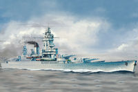 French Navy Strasbourg Battleship