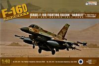 General Dynamics  F-16D IDF Barakeet with 600 Gal tank