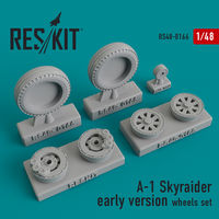 A-1 Skyraider early version wheels set