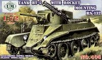 BT5 Soviet Tank w/RS132 Rocket System Kit