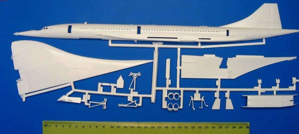 Revell   Concorde Build