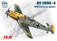 Bf-109E-4 WWII German fighter