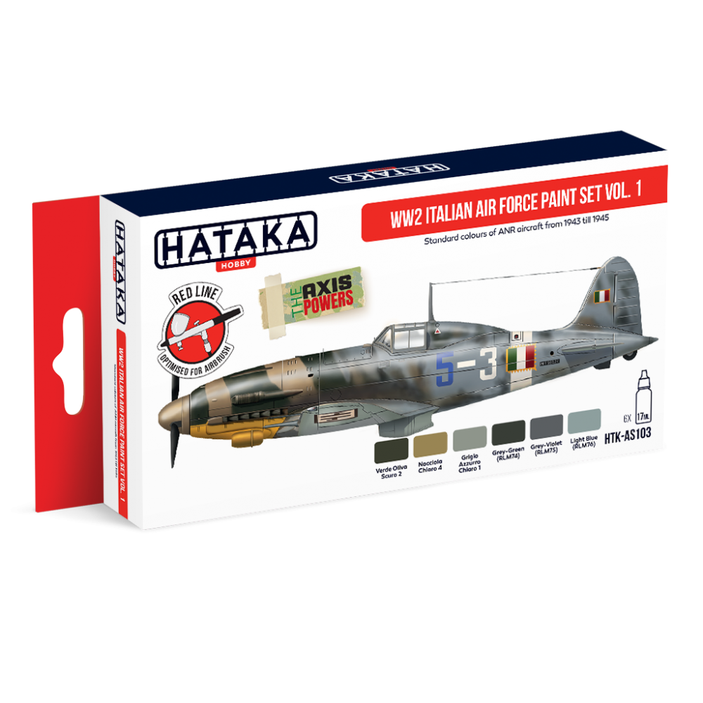 WW2 Italian Air Force paint set vol.1 - Image 1