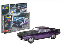 70 Plymouth Aar Cuda Model Set