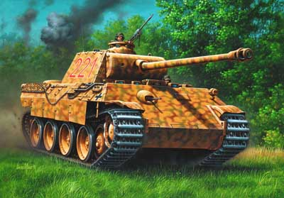 panzer v panther ausf d und a revell 03107