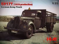 G917T (1939 production), German Army Truck